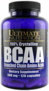 BCAA 500 mg 120 Capsule Ultimate Nutrition