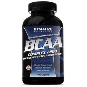 BCAA Complex Dymatize 400 Caplets