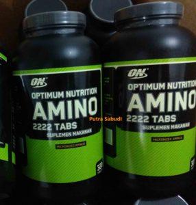 Amino ON 2222 isi 320 tablet BPOM