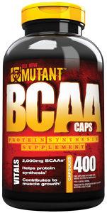 Mutant BCAA 400 Capsule