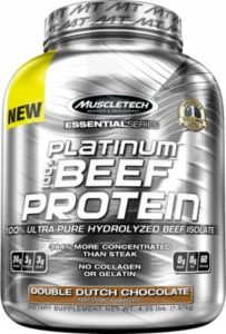 Platinum Beef Protein Muscletech 4.11 Lbs