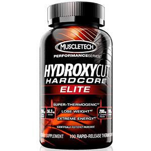 Hydroxycut Hardcore Elite 100 Capsule Fat Burner Muscletech – Capsule Warna Merah