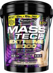 Mass Tech 22 lbs Muscletech Gainer