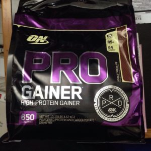 ON Pro Gainer 10 Lbs – Optimum Nutrition – Kemasan Baru dari ON PRO COMPLEX Gainer