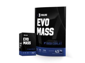 Evomass Gainer Evolene BPOM HALAL 10 Lbs 4.5 KG dan Evo MASS 2 Lbs ( 912 Gram )