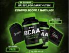 BCAA Evolene 60 Capsule BPOM Halal Beli 2 Bonus Tas dan Kalendar